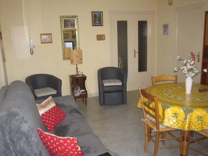 Location de vacances - Appartement à Draguignan - Le salon