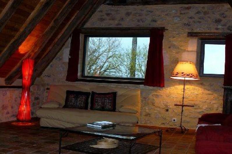 Location de vacances - Gîte à Lentillac-du-Causse - coin salon