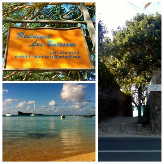 Location de vacances - Villa à Pereybere - Accès direct  à la plage