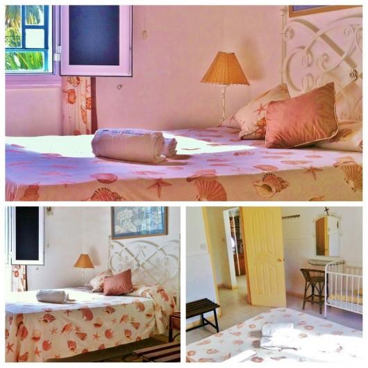 Location de vacances - Villa à Pereybere - Chambre Double bungalow 1er étage