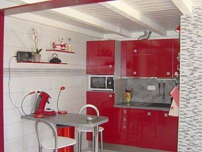 Location de vacances - Appartement à Esparron-de-Verdon - Location N° 2  Cuisine américaine LV