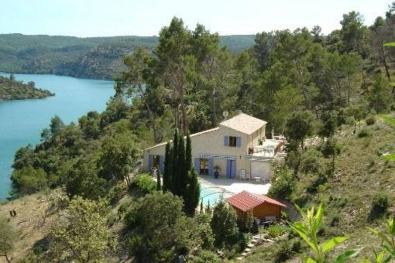 Location de vacances - Appartement à Esparron-de-Verdon