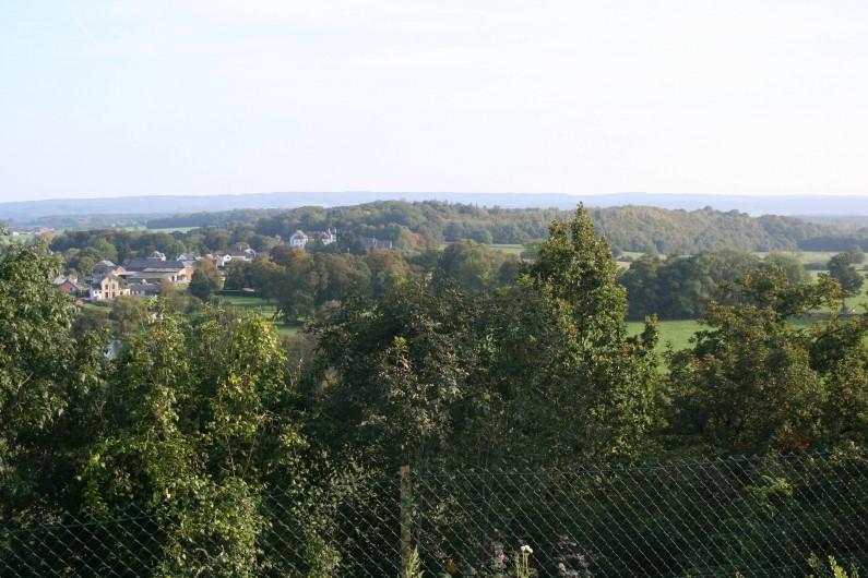 Location de vacances - Maison - Villa à Hotton - Vue depuis la terrasse