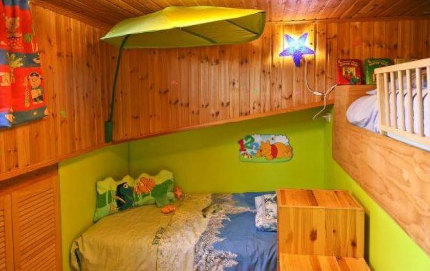 Location de vacances - Maison - Villa à Hotton - Chambre enfants