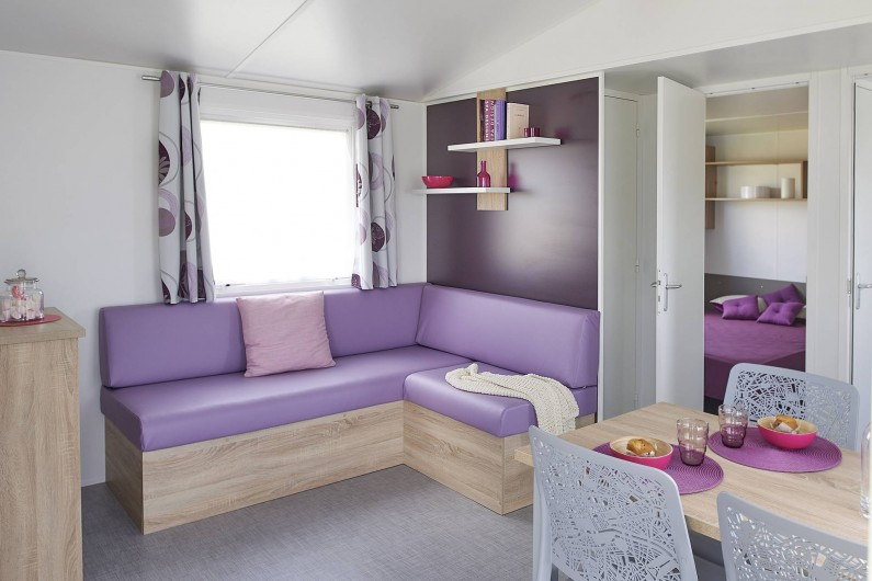Location de vacances - Camping à Wacquinghen - Mobil home Loft 4 personnes 2 chambres