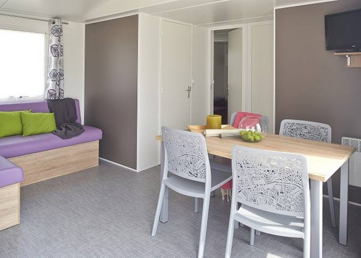 Location de vacances - Camping à Wacquinghen - Mobil home Lodge 6 personnes 3 chambres