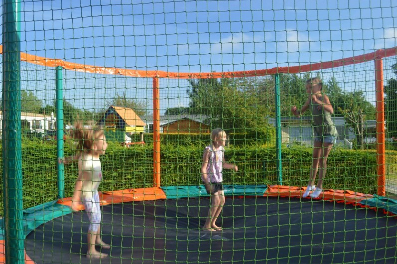 Location de vacances - Camping à Wacquinghen - trampolines géants