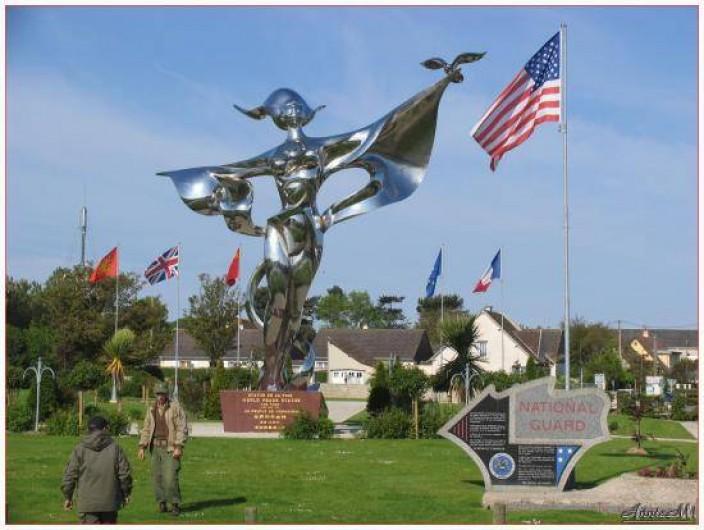 Location de vacances - Bungalow - Mobilhome à Grandcamp-Maisy - Statut de la liberté