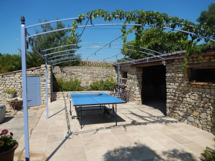 maison aigremont languedoc roussillon avec piscine et terrain de p tanque gard. Black Bedroom Furniture Sets. Home Design Ideas