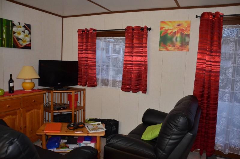 Location de vacances - Maison - Villa à Portiragnes Plage - Coin salon avec TV écran plat
