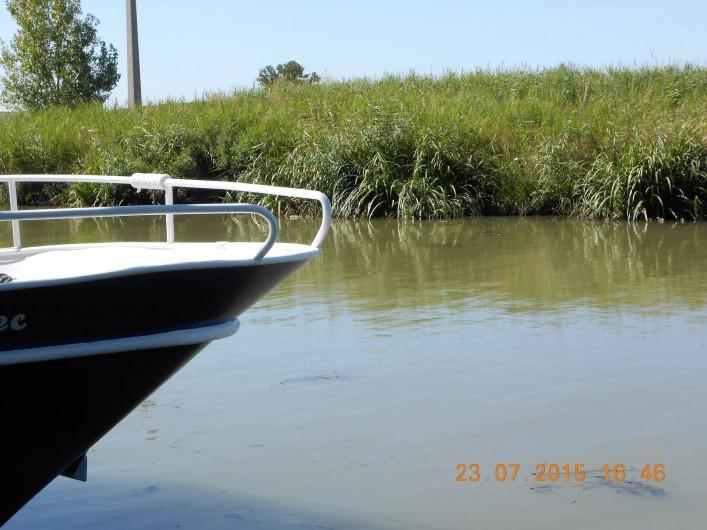 Location de vacances - Maison - Villa à Portiragnes Plage - Une balade en bateau sur le canal du midi !