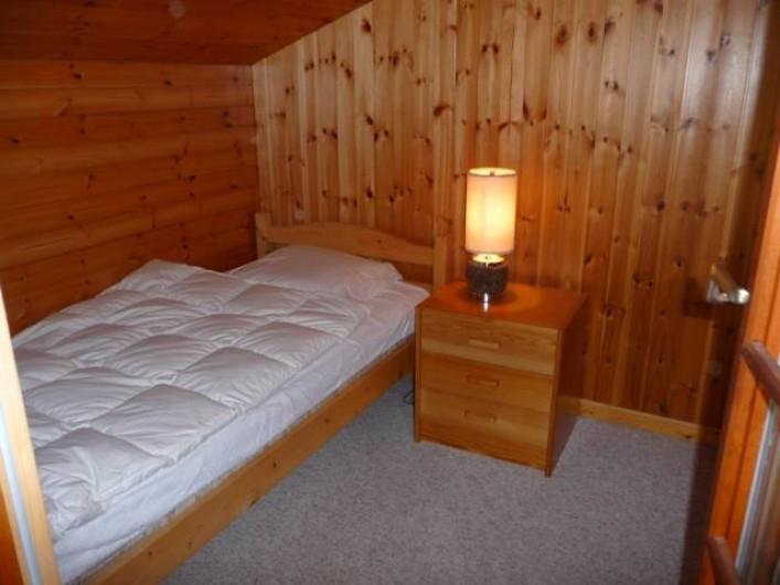 Location de vacances - Chalet à Praz-de-Fort - Chambre 3