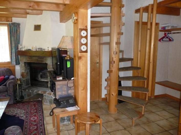 Location de vacances - Chalet à Praz-de-Fort - Escaliers