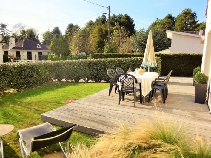 Location de vacances - Maison - Villa à Stella Plage - Terrasse privée