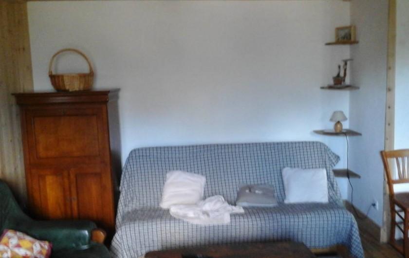 Location de vacances - Appartement à Servoz - salon