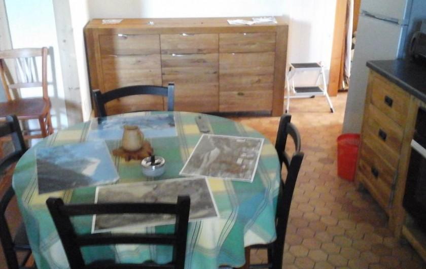 Location de vacances - Appartement à Servoz - cuisine nord
