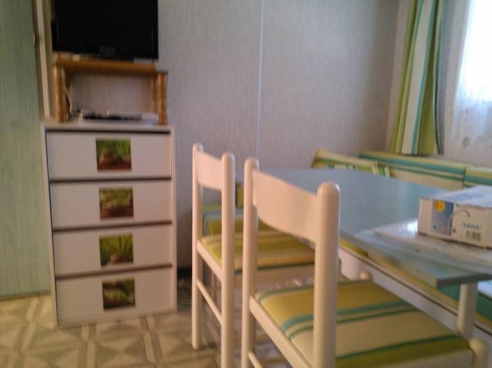 Location de vacances - Bungalow - Mobilhome à Hyères - salon