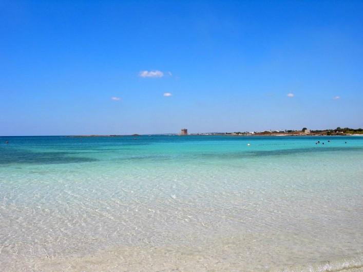 Location de vacances - Appartement à Pescoluse - La mer à Pescoluse