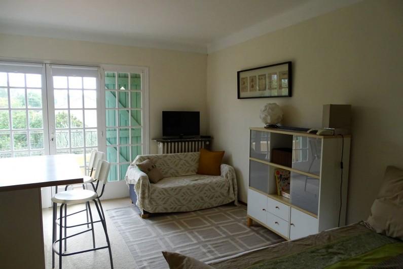 Location de vacances - Studio à Le Pradet - espace salon