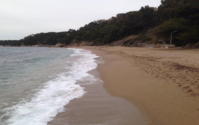 Location de vacances - Studio à Le Pradet - la plage