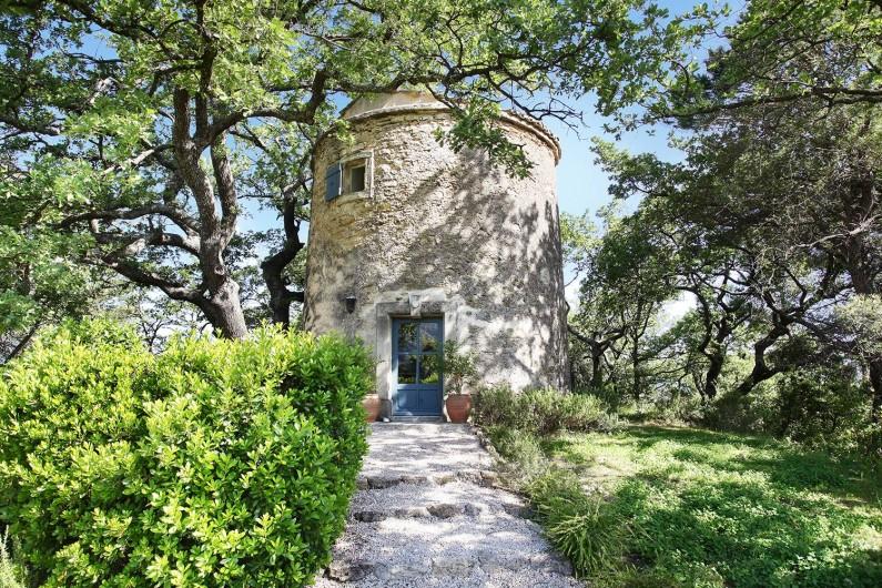 Location de vacances - Appartement à Oppède - Le Moulin
