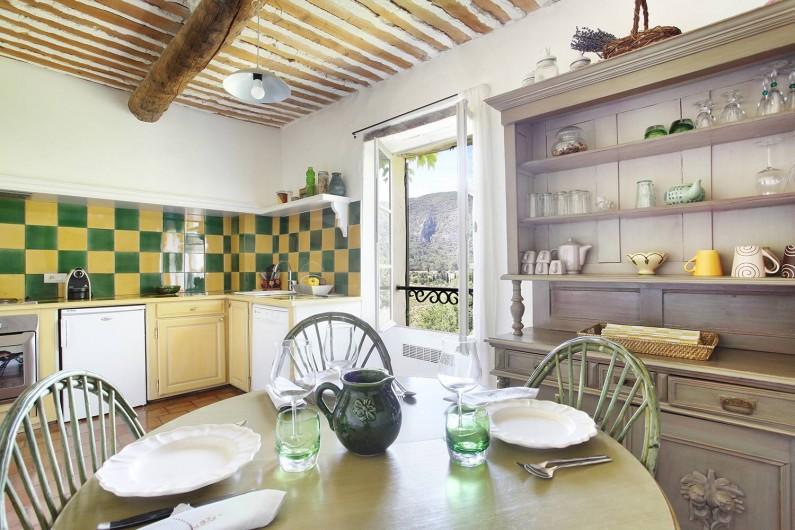 Location de vacances - Appartement à Oppède
