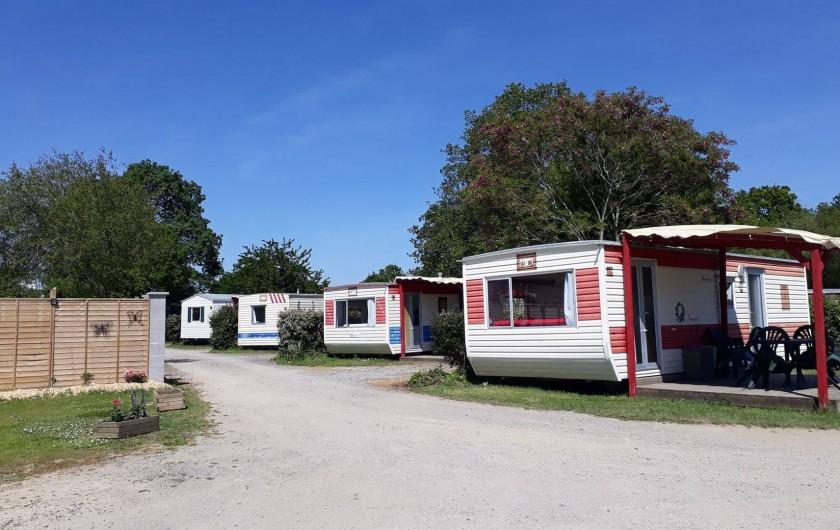 Location de vacances - Camping à Sallertaine - Mobilhome Confort