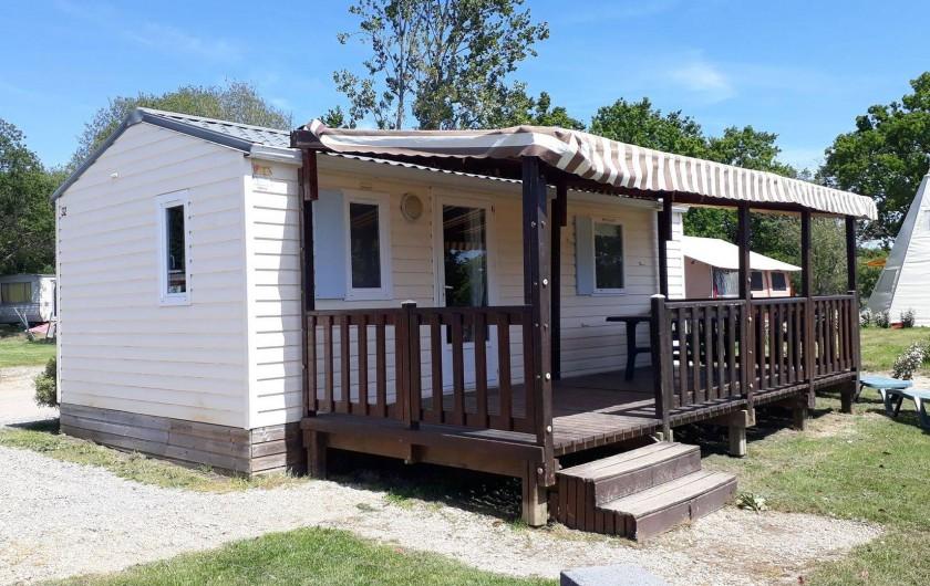 Location de vacances - Camping à Sallertaine - Mobilhome Grand confort