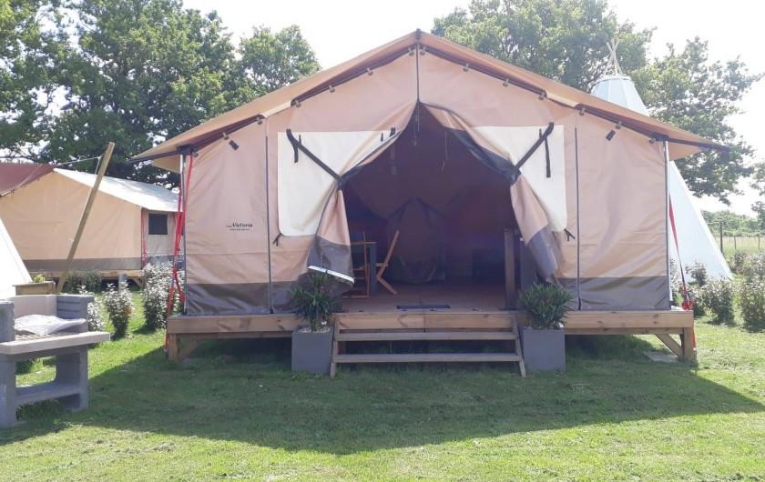 Location de vacances - Camping à Sallertaine - Lodge