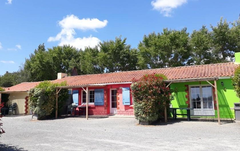 Location de vacances - Camping à Sallertaine - Gites
