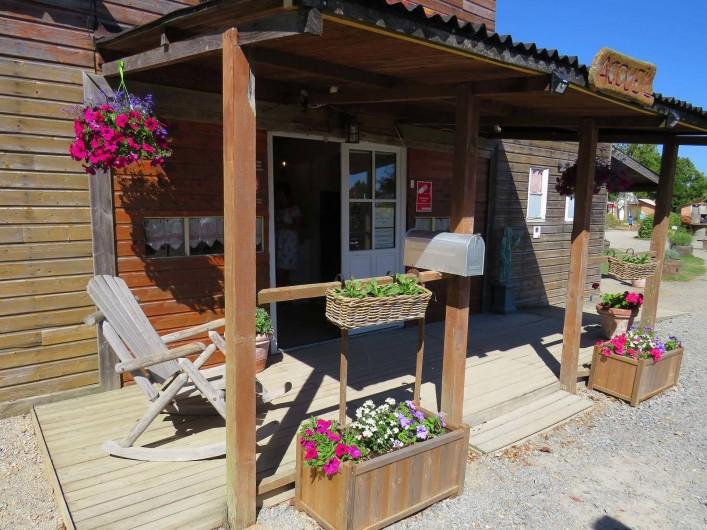 Location de vacances - Camping à Sallertaine - Accueil