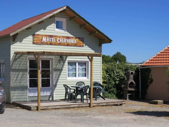 Location de vacances - Camping à Sallertaine - Motel California