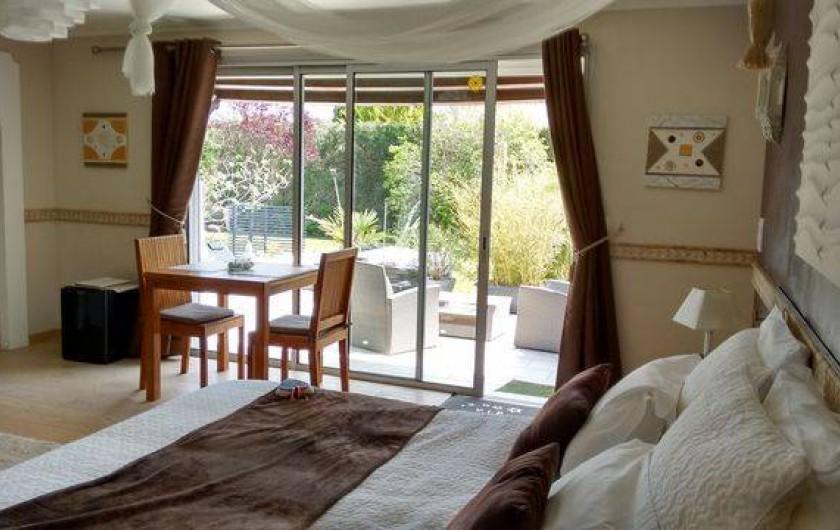 Location de vacances - Chambre d'hôtes à Aigues-Mortes - grande chambre
