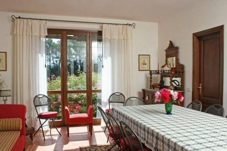 Location de vacances - Villa à San Venanzo - La Salle à manger