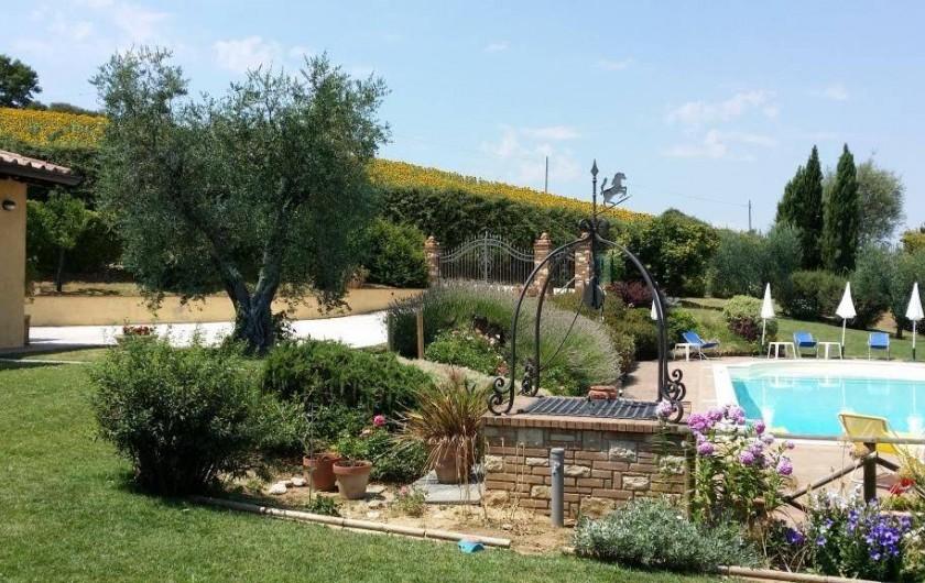 Location de vacances - Villa à San Venanzo - Le Jardin