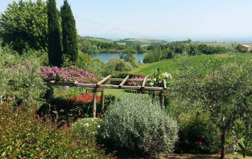 Location de vacances - Villa à San Venanzo - Le Vue panoramique