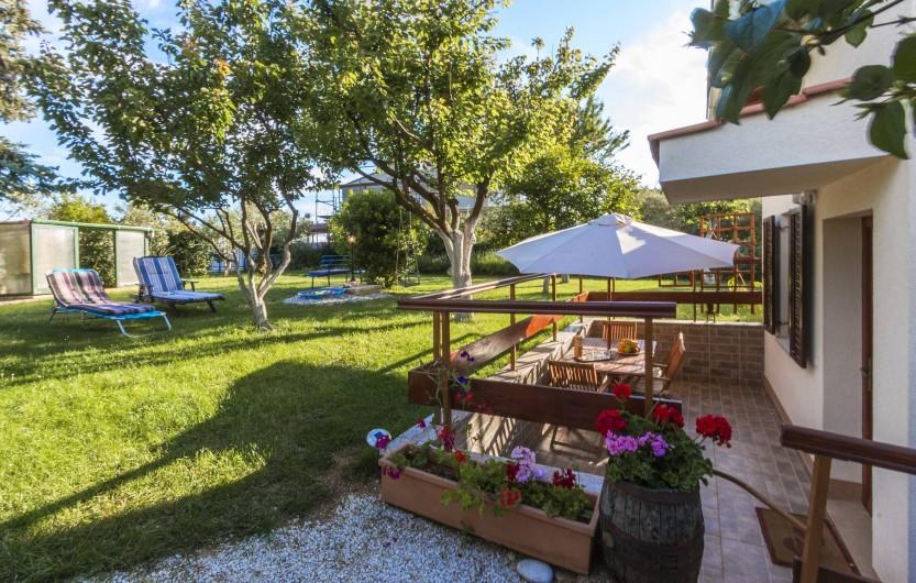 Location de vacances - Appartement à Banjole - ENTREE DE L APPARTEMENT