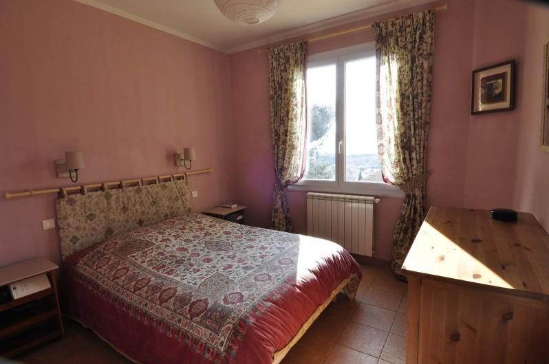 Location de vacances - Villa à Tamaris - Chambre parme fenêtre au sud