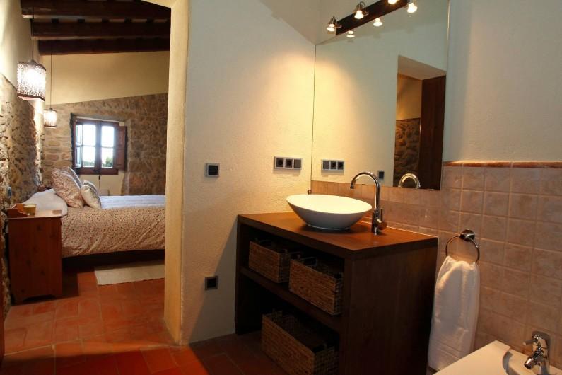 Location de vacances - Mas à Gérone - Bain suite