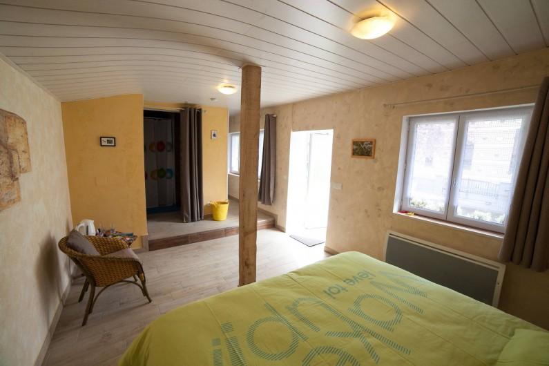 Location de vacances - Appartement à Oberrœdern - 2 lits simples ou 1 lit double 180x200
