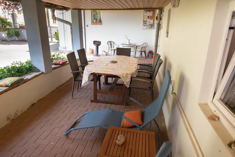 Location de vacances - Appartement à Oberrœdern - Deux transats pour la sieste