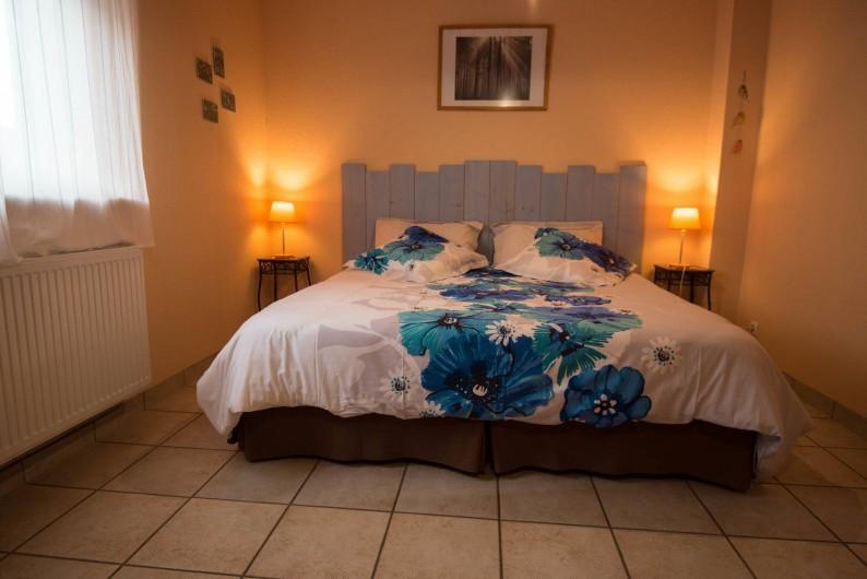 Location de vacances - Appartement à Oberrœdern - La chambre 1 version lit double plus 1 lit simple