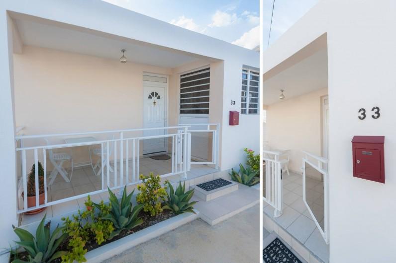 Location de vacances - Studio à Sainte-Anne - L'appart' Carambole, un produit d'exception à proximité de la plage