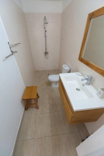 Location de vacances - Studio à Sainte-Anne - Carambole, salle d'eau à l'italienne