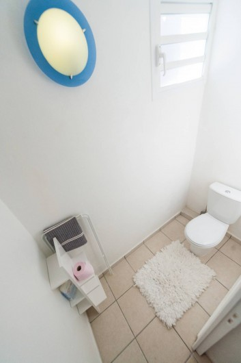 Location de vacances - Studio à Sainte-Anne - Corossol : WC