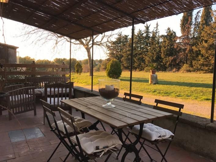 Location de vacances - Maison - Villa à Aix-en-Provence - (Terrasse 18m²)