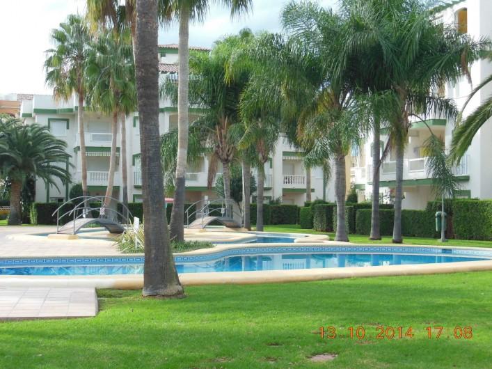 Location de vacances - Appartement à Dénia - voici la vue de l'appartement