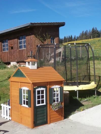 Location de vacances - Appartement à La Chaux-de-Fonds - Place de jeux