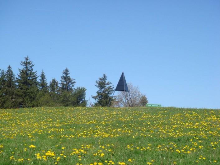 Location de vacances - Appartement à La Chaux-de-Fonds - Sommet de Pouillerel à 15 minutes de chez nous avec vue magnifique
