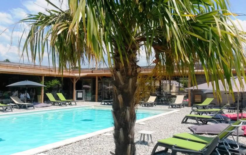 Location de vacances - Insolite à Richerenches - Piscine ouverte toute l'année